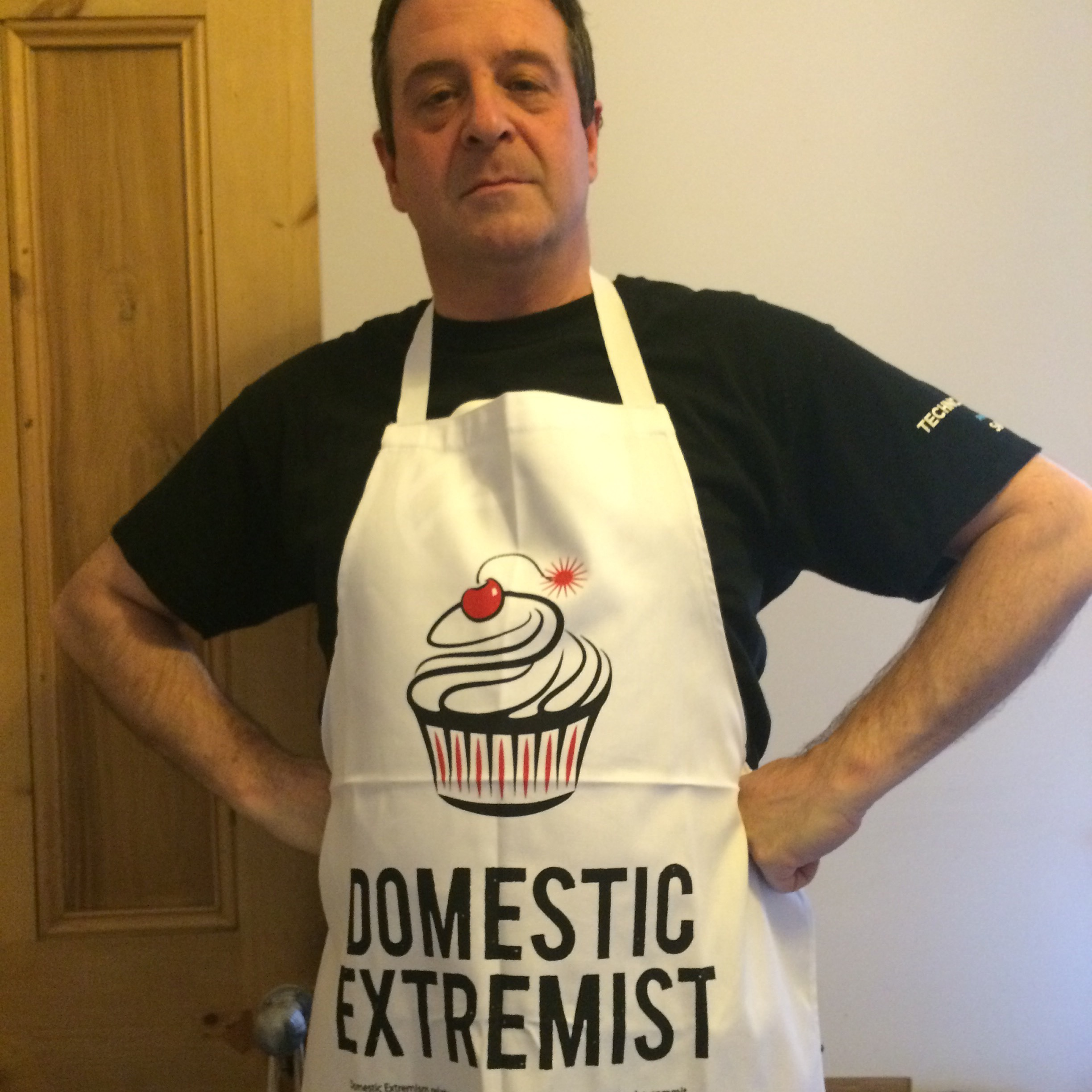 MT in his DE Apron